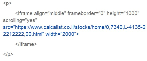 תוכן html
